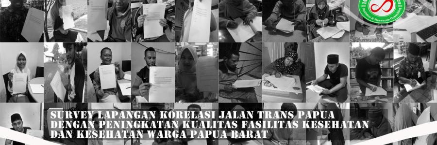 Survey Lapangan Infrastruktur Papua Barat