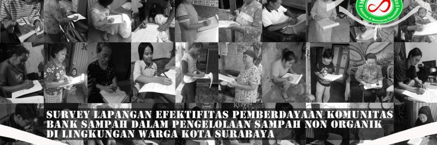 Survey Lapangan Bank Sampah Kota Surabaya