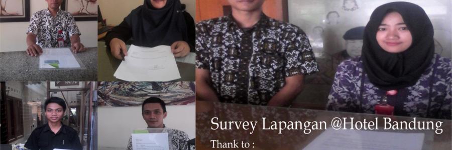 Survey Lapangan Marketer Hotel Berbintang Di Kota Bandung