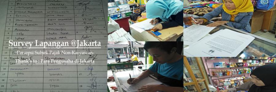 Survey Lapangan Pengusaha di Jakarta