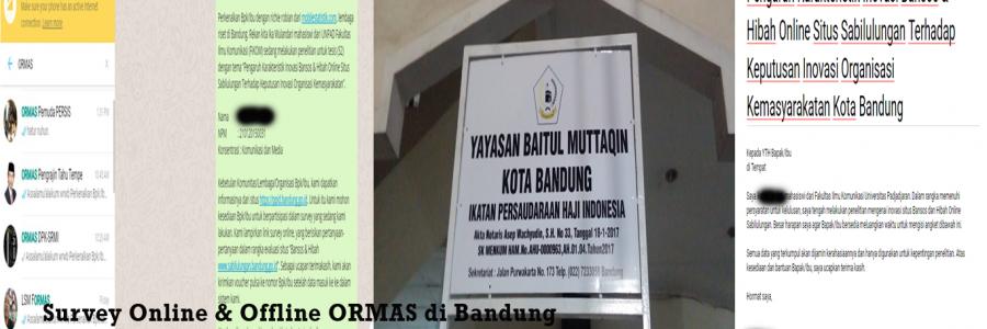 Survey Lapangan ORMAS Di Kota Bandung