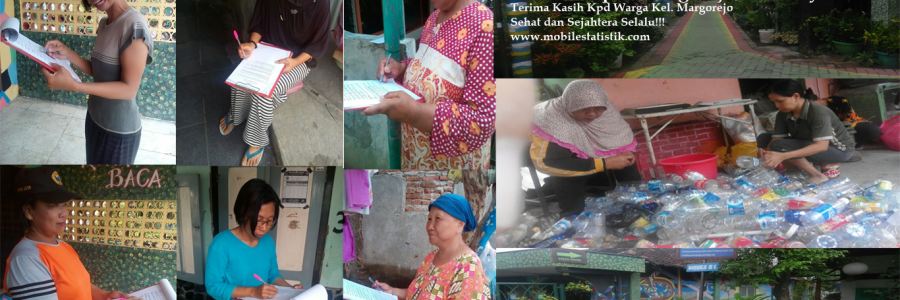 Survey Lapangan Nasabah Bank Sampah Margorejo, Surabaya