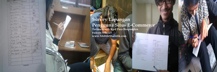 Survey Lapangan Pengguna E-Commerce Di Bandung