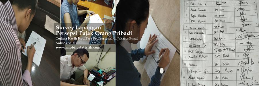 Survey Lapangan Persepsi Pajak Pekerja di Jakarta Pusat