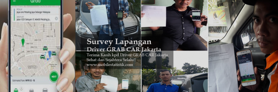 Survey Lapangan Driver GRAB Car Jakarta