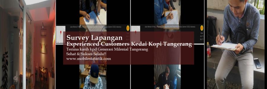 Survey Lapangan Pelanggan Kedai Kopi di Tangerang