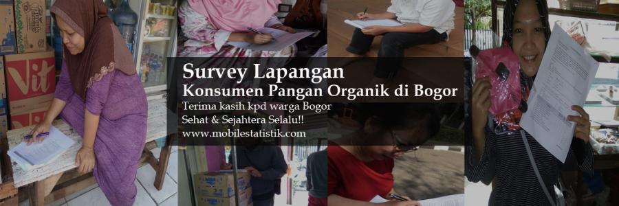 Survey Lapangan Experienced Customers Sayuran Organik di Bogor