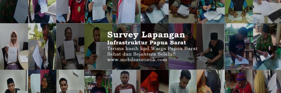 Survey Lapangan Infrastruktur Kesehatan Warga Papua Barat