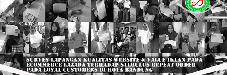 Survey Lapangan Customer LAZADA Kota Bandung
