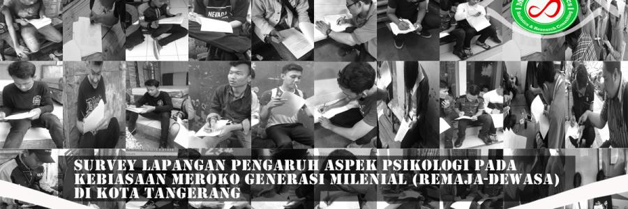 Survey Lapangan Perokok Generasi Milineal Di Kota Tangerang