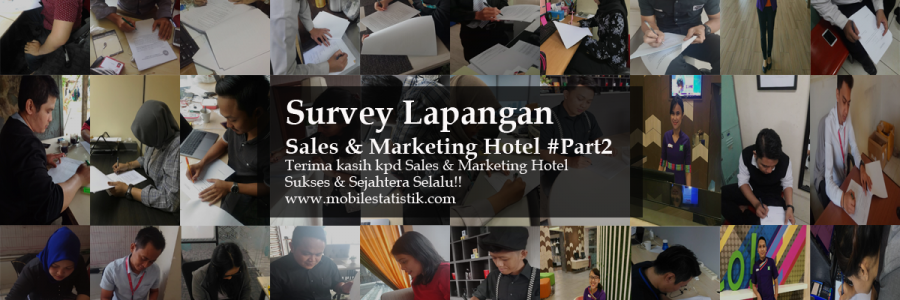 Survey Lapangan Hotel Berbintang Bandung & Jakarta #Part2