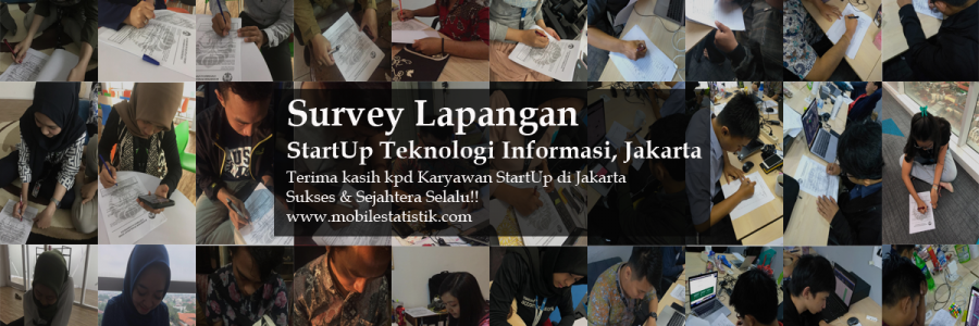 Survey Lapangan StartUp Teknologi Informasi di Jakarta