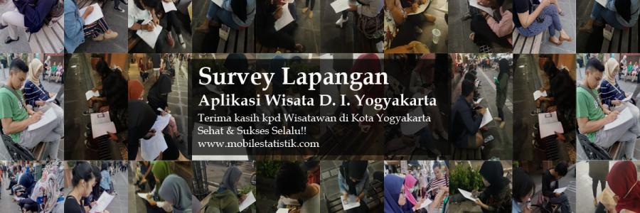 Survey Lapangan Wisatawan D.I. Yogyakarta