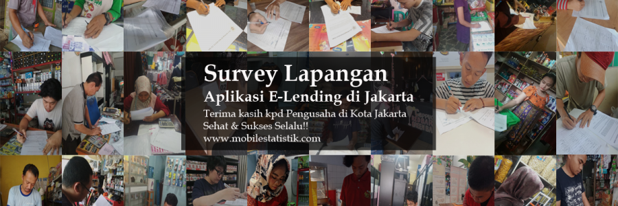 Survey Lapangan P2P E-Lending di Jakarta