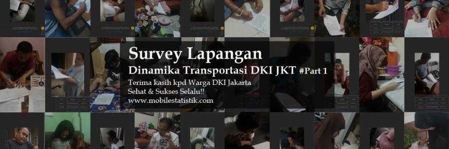 Survey Lapangan Preferensi Moda Transportasi Warga Jakarta #Part1