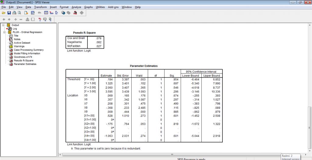 regresi ordinal @mobilestatistik.com
