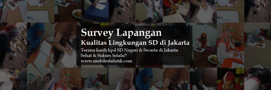 Survey Lapangan Kualitas Lingkungan SD Negeri dan Swasta di Jakarta