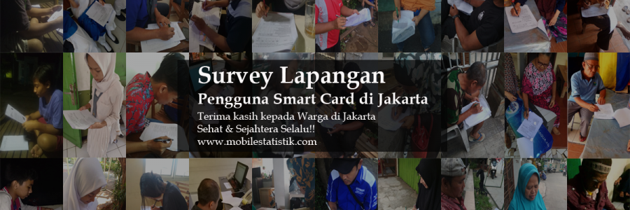 Survey Lapangan Pengguna Smart Card di Jakarta
