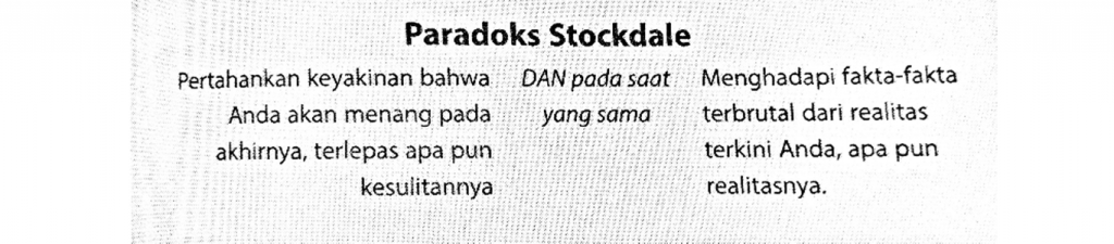 Paradoks Stockdale, Good to Great, Jim Collins