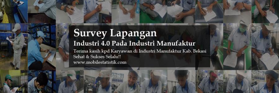 Survey Lapangan Industri 4.0 Pada Perusahaan Manufaktur Kab. Bekasi