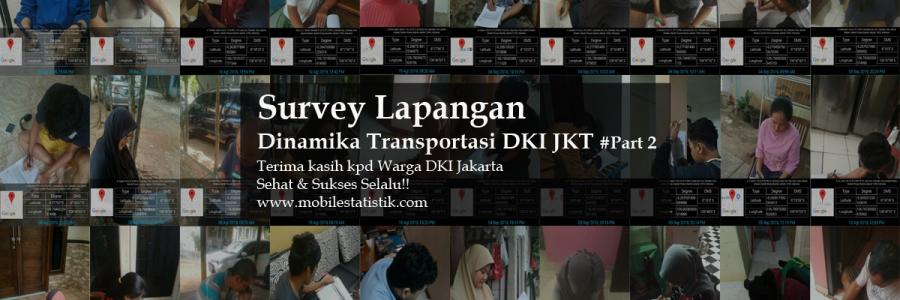 Survey Lapangan Preferensi Moda Transportasi Warga Jakarta #Part2