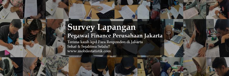 Survey Lapangan Karyawan Finance Perusahaan Jabodetabek