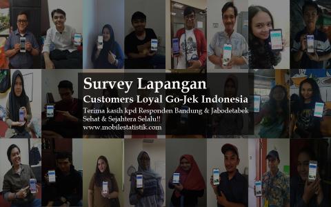 Survey Lapangan Pelanggan GO-JEK Indonesia