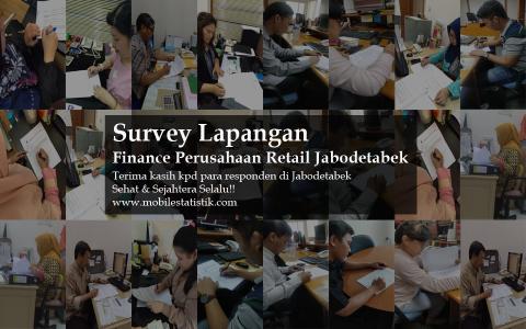 Survey Lapangan Karyawan Finance Perusahaan Retail Jabodetabek