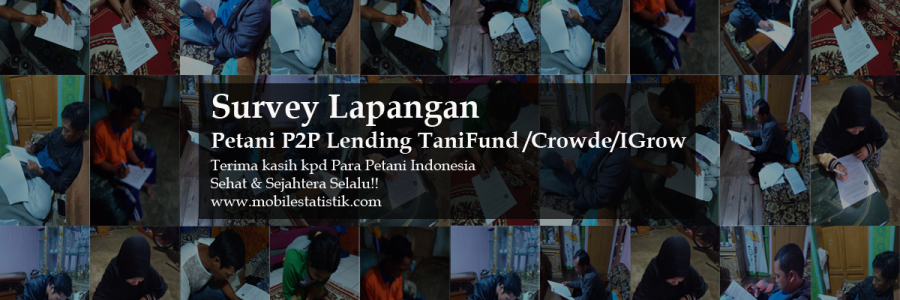 Survey Lapangan Petani TaniFund/Crowde/IGrow di Jawa Barat