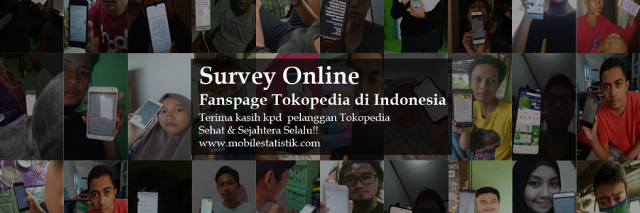 Survey Online Pelanggan & Followers Fanspage Tokopedia