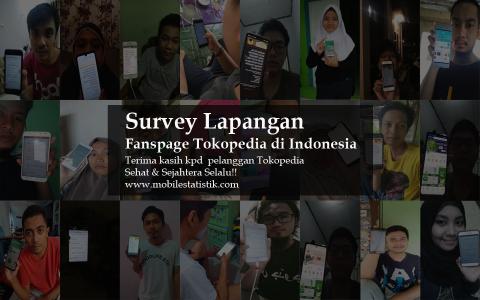 Online Survey Pelanggan & Followers Fanspage Tokopedia