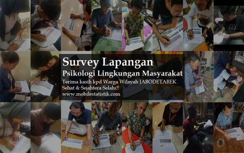 Survey Lapangan Psikologi Lingkungan Warga Jabodetabek