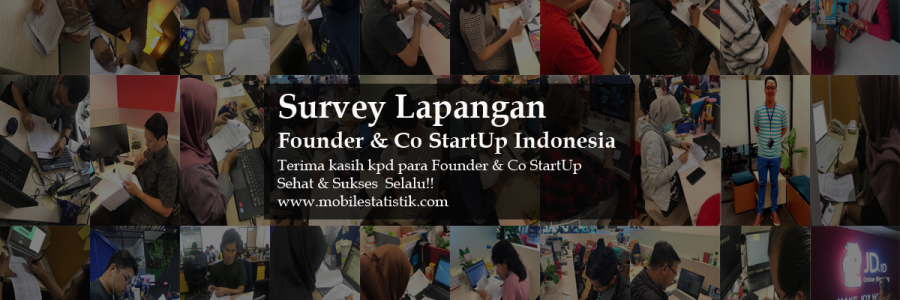 Survey Lapangan Founder & Co StartUp Indonesia