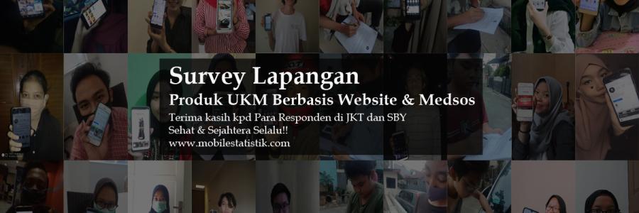 Survey Lapangan Pelanggan Produk UKM di Jakarta dan Surabaya