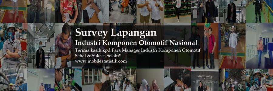 Survey Lapangan Industri Komponen Otomotif Nasional