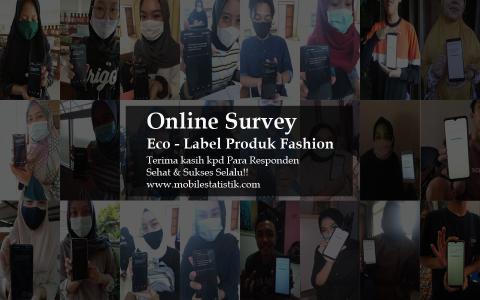 Online Survey Eco Label Produk Fashion
