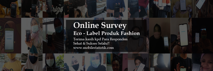 Online Survey Eco Label Produk Fashion