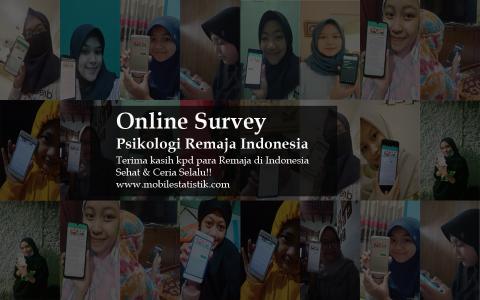 Online Survey Psikologi Remaja