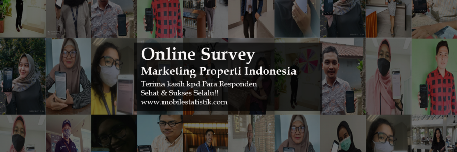 Online Survey Marketing Properti Indonesia
