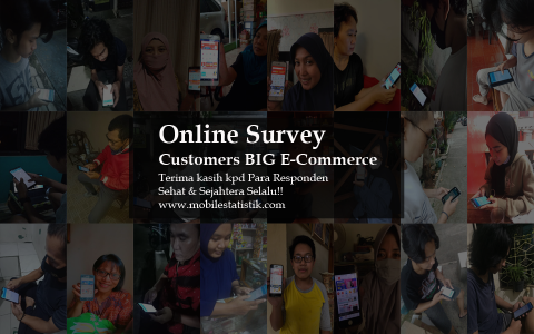 Online Survey Pelanggan E-Commerce di Indonesia