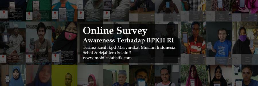 Online Survey Awareness Terhadap BPKH RI