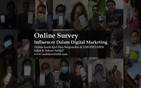 Online Survey Influencer Digital Marketing