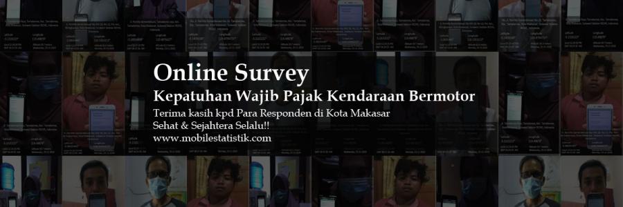 Online Survey Wajib Pajak Kendaraan Bermotor