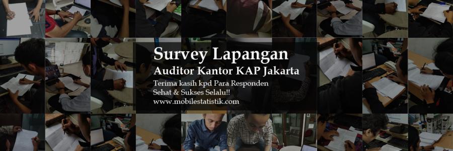 Survey Lapangan Auditor KAP Jakarta