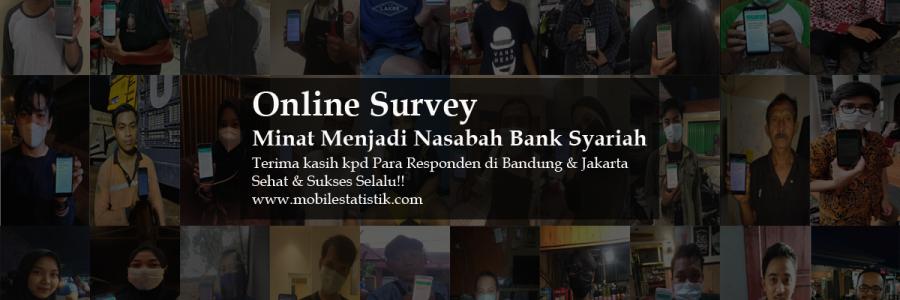 Online Survey Minat Bank Syariah