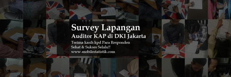 Survey Lapangan Auditor KAP di Jakarta