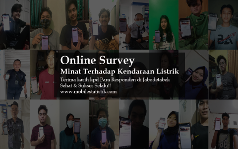 Online Survey Minat Terhadap Kendaraan Listrik